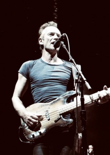 Sting - My Songs, Nizza sabato 26 ottobre 2019